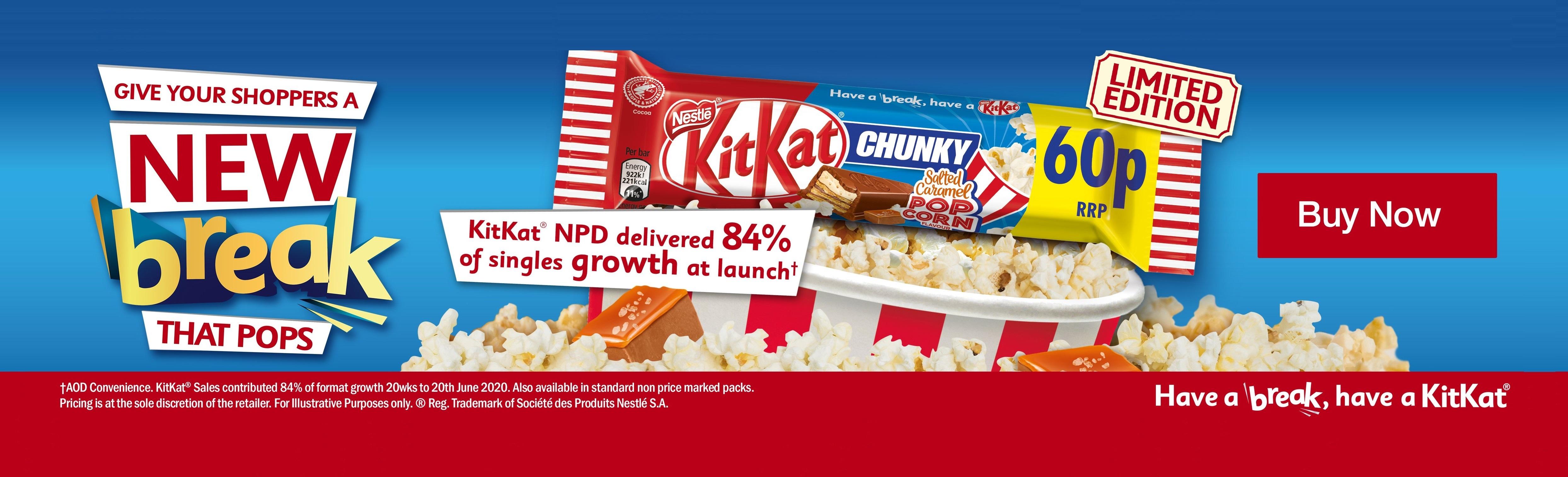 KitKat Chunky Popcorn