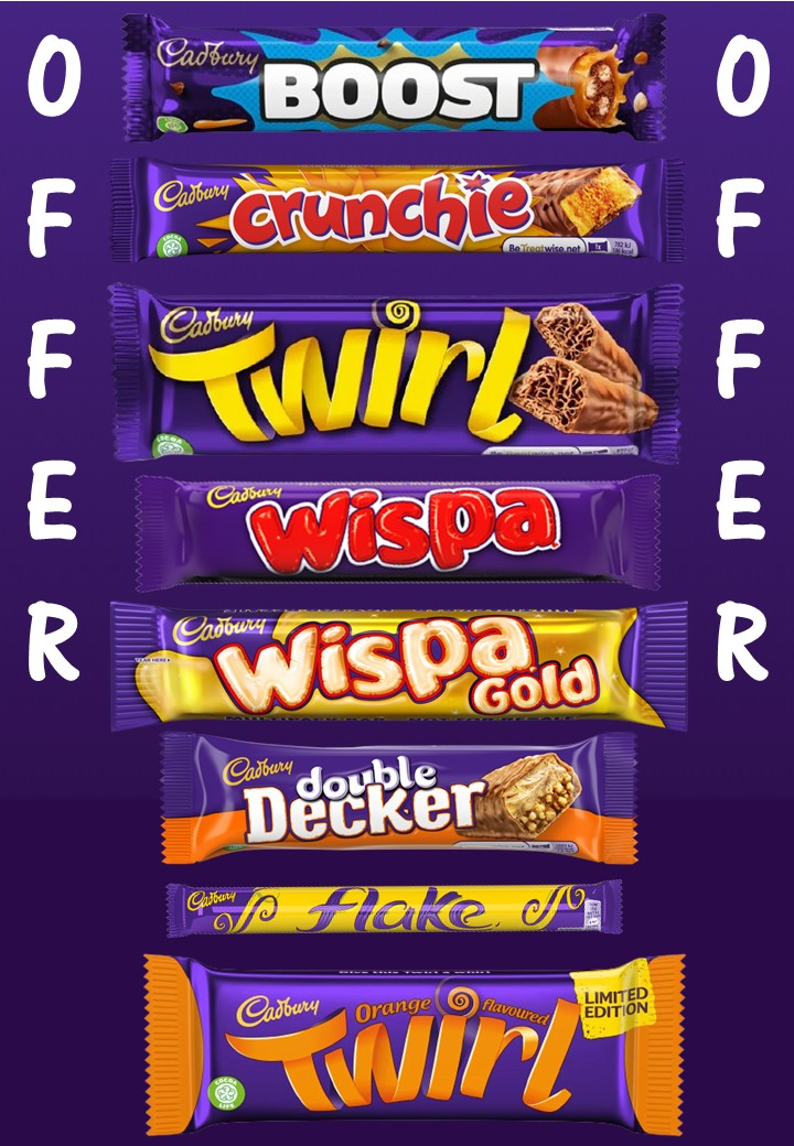 Cadbury Small Packs